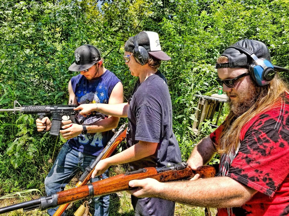 The Boys Shooting